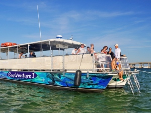 handicap accessible crab island shuttle