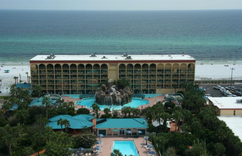 The Ramada Plaza Beach Resort